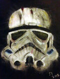 Dead storm trooper painting by captaus-d4ywb56