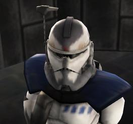 Alpha-04 Vaze helmet close up