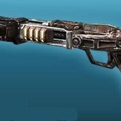 A'den's ACP Array gun gained after returning to Mandalore