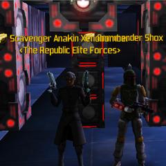 Commander Shox & Anakin Xenobomber