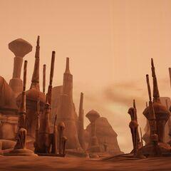 The Geonosian Skyline