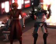 Commander Ace and Jedi General Plo Koon