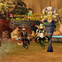 Commander Shox & Holly Talon