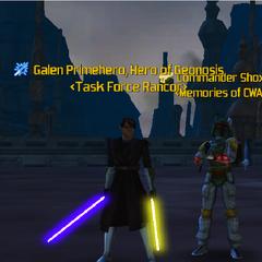 Commander Shox & Galen Primhero