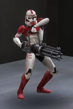 Shock trooper rotary cannon