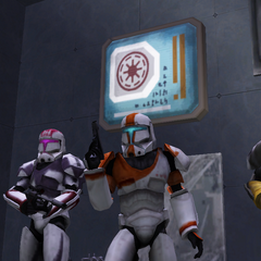 The Republic Commandos. Boss, Scorch, Fixer and Sev
