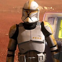 Commander Skirata in his clone wars days befor the dark times. first battle of geonosis.
