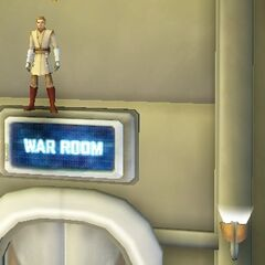 Glitch on The War Room Sign