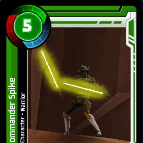 Commander Spike Card Commander card