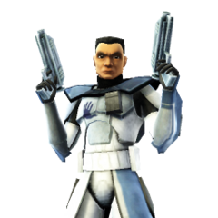 Griff in phase 1 Arc Trooper gear.