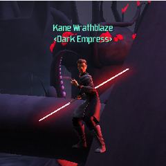 Kane Wrathblaze on Umbara, Standing In the Air, and I Really Have Know Idea How He's Standing There.