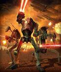 The battle droids