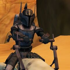 Malek speeding through Tatooine.
