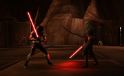 Spy Jacen VS Dooku