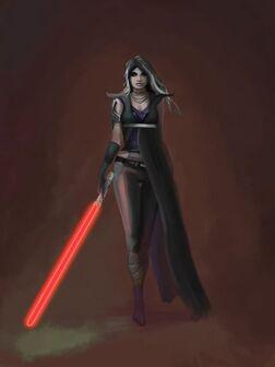 Nala as Vader's Apprentice