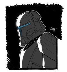 Republic Commando by Daennika