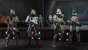 Dartstaff Squad members.