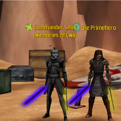 Commander Shox & Olle Primhero