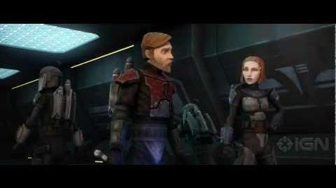Star Wars The Clone Wars Season 5 - Obi-Wan and Bo-Katan - Comic Con 2012