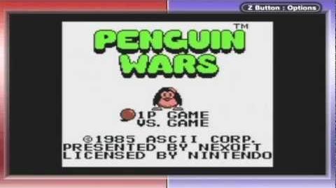 Penguin Wars Game Sample - GB