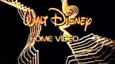 "Walt Disney Home Video ""Neon Mickey"" (1978-1986) Varient 2"