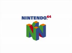 Nintendo 64 logo (white)