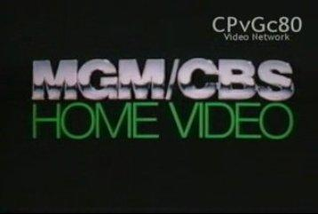 MGM CBS Home Video