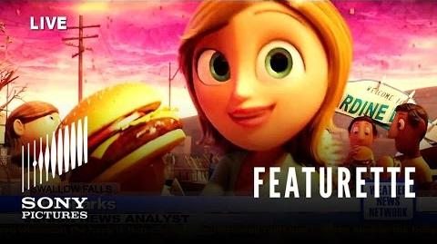"Cloudy With A Chance of Meatballs ""Sam Sparks"" Featurette"