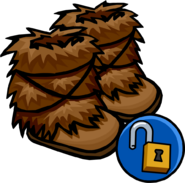 Fuzzy Boots unlockable icon