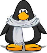 Heather Grey Scarf from a Player Card
