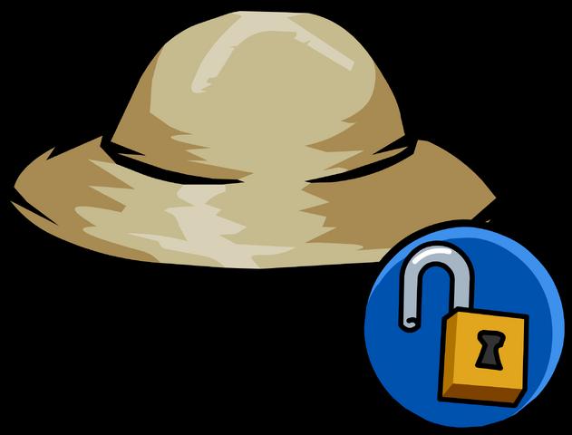 File:Safari Hat unlockable icon.png