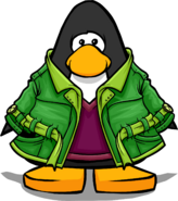 Green Peacoat PC