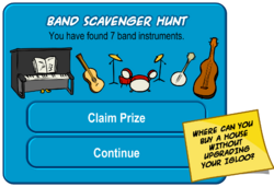 Band Scavenger Hunt