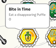 Bite in time stamp book