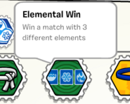 Elemental win stamp book