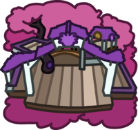 Purple Puffle Tree House icon