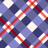 Red and Purple Plaid Background photo
