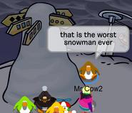 Snowman FAIL