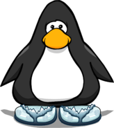 Glacial Sandals from a Player Card
