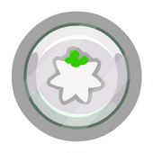 White O'berry Pin icon