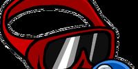 Red Ski Goggles