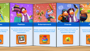 Club Penguin Island Party app interface page 2
