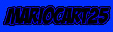 File:Mariocart25 Logo 13.png