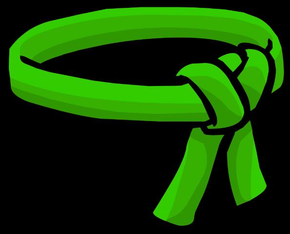 File:Green Ninja Belt icon.png