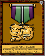 Mission 1 Medal full award de