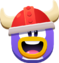 Emoji Red Viking Face