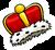 King's Crown Pin