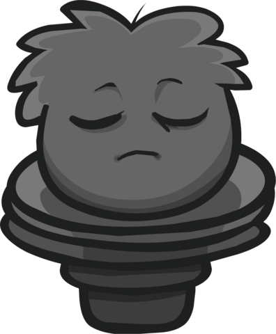 File:Perched Puffle Statue Furniture Item.png