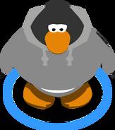 Grey Hoodie in-game