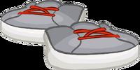 Grey B-Boy Sneakers
